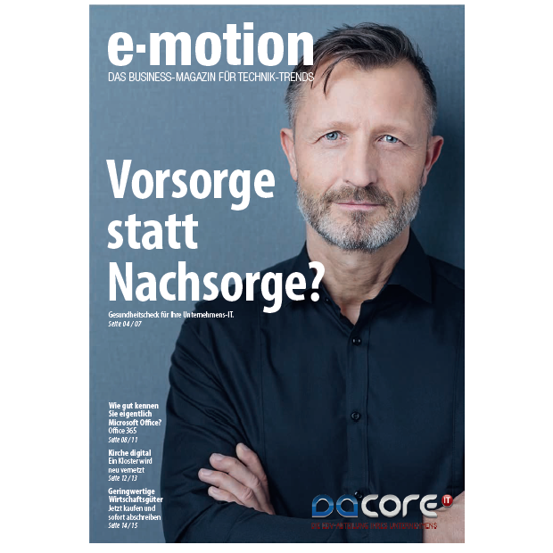 Kundenmagazin 02/2018 daCore IT